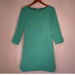 Eliza J Spring Green sheath dress size 10